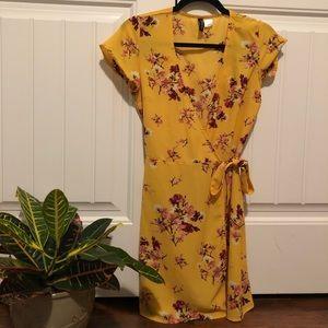 Gently used wrap dress